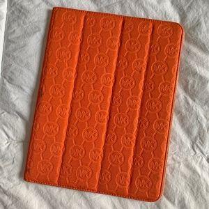Michael Kors Logo iPad Case - Orange